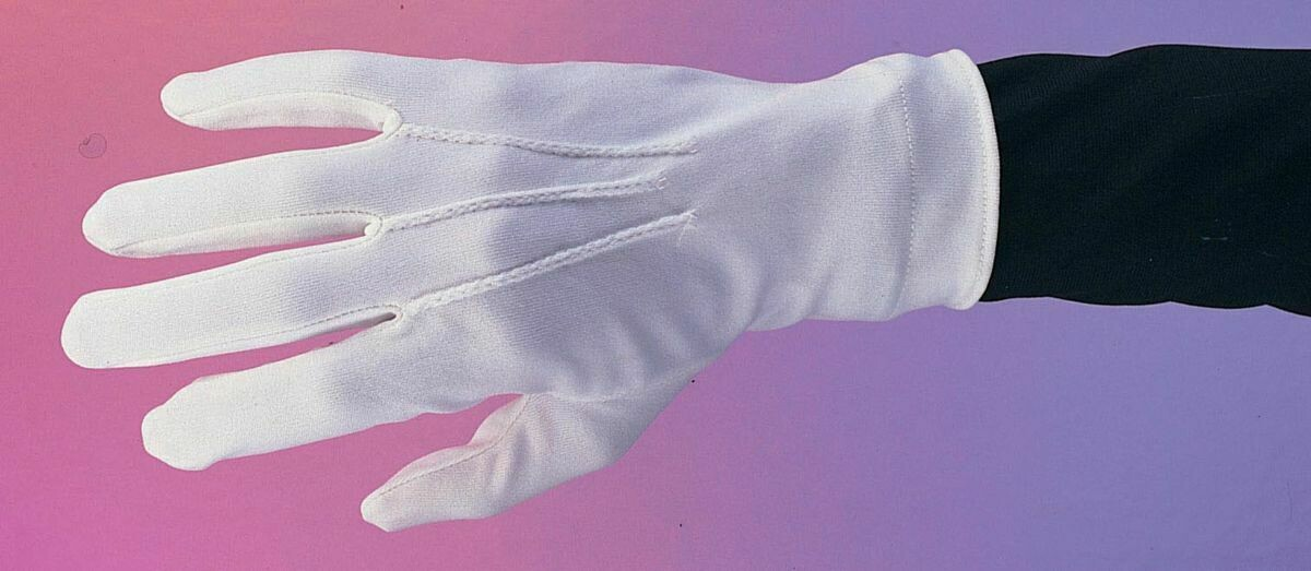 White Nylon Gloves