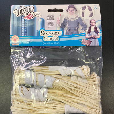 Scarecrow Straw Set