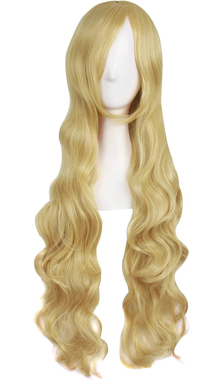 "32"" Mixed Golden Wig"