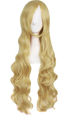 "32"" Mixed Golden Wig"