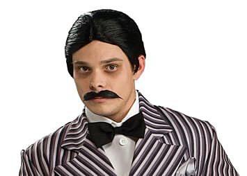 Gomez Addams Wig & Moustache