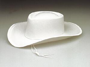 Child White Sheriff Cowboy Hat