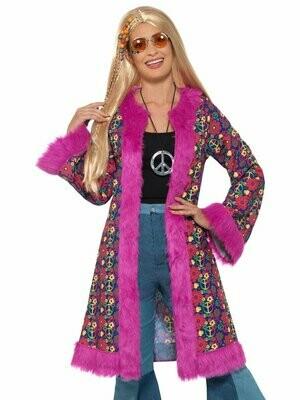 60's Psychedelic Hippie Coat