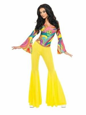 70s Groovy Babe Costume M