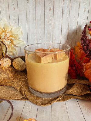 Spooky Pumpkin Candle