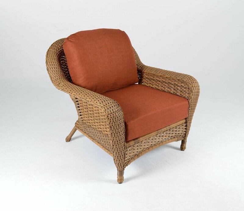 Sea Pine Wicker Mojave Club Chair