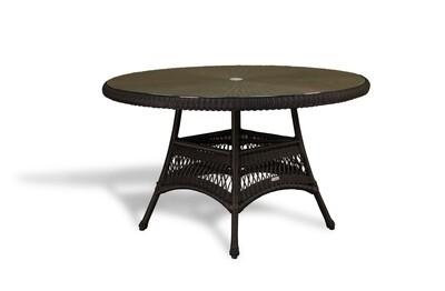 "Sea Pines Dining Table Tortoise (48"")"