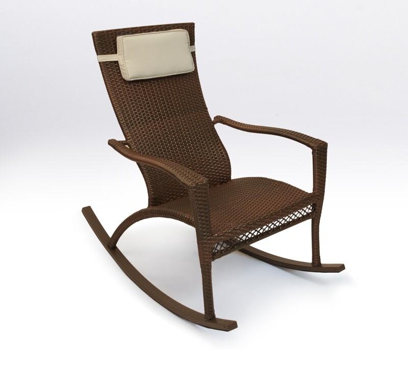 Marcay Java Rocking Chair with Head Cushion