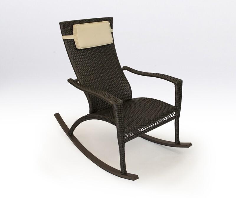 Marcay Tortoise Rocking Chair with Head Cushion
