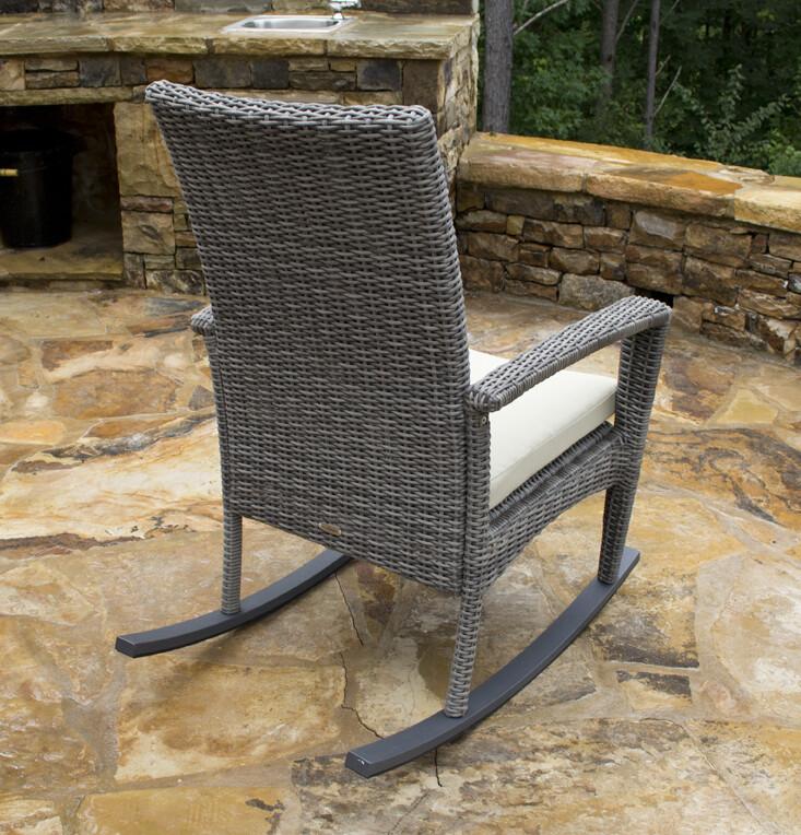 Bayview Driftwood Rocking Chair