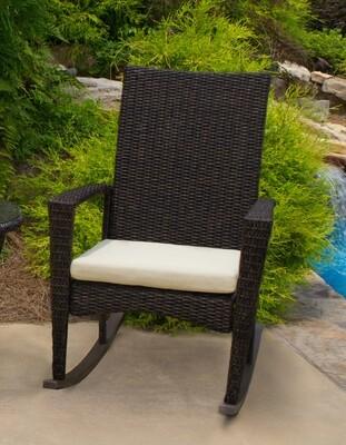 Bayview Pecan Rocking Chair