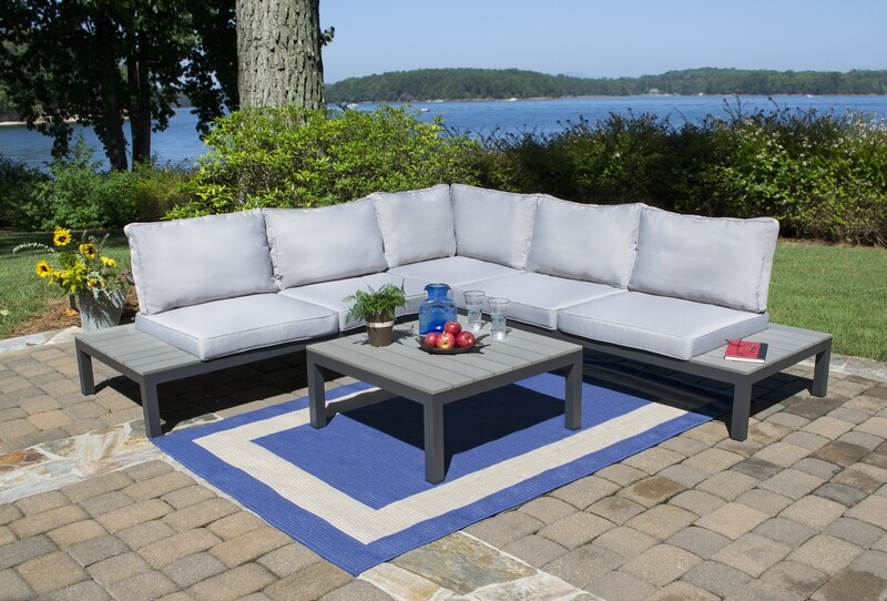 Lakeview 4 Piece Outdoor Sectional