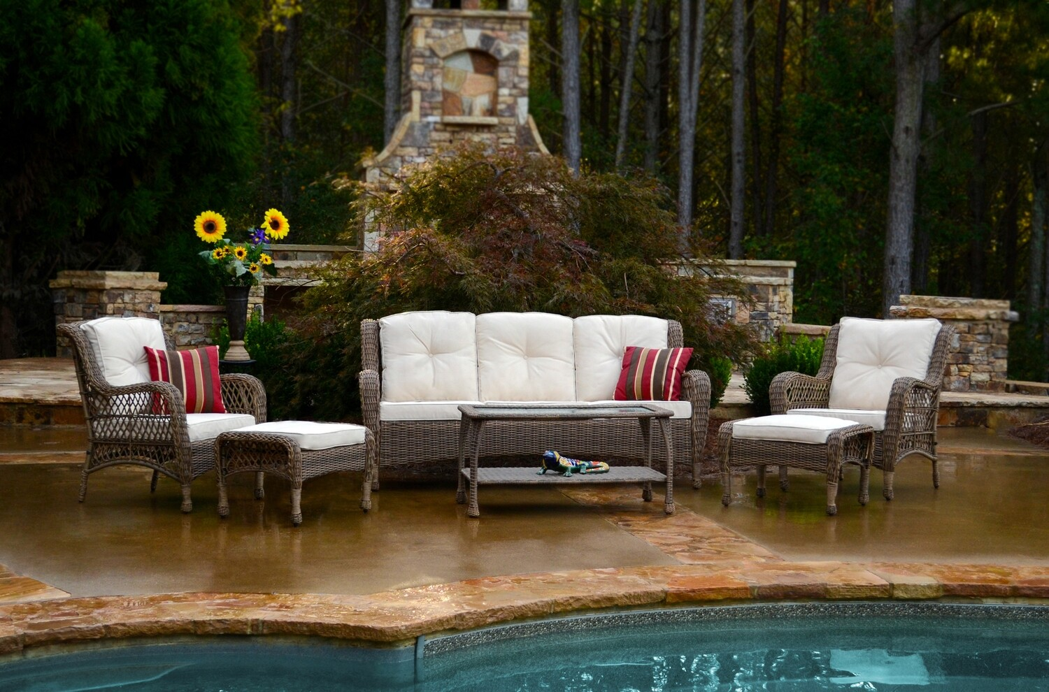 Rio Vista 6 Piece Seating Set