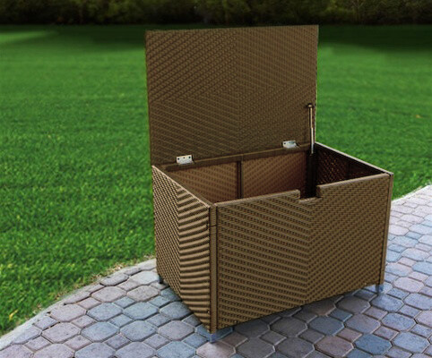 STONEWICK STORAGE BOX ~ MEDIUM ~  TREE BARK