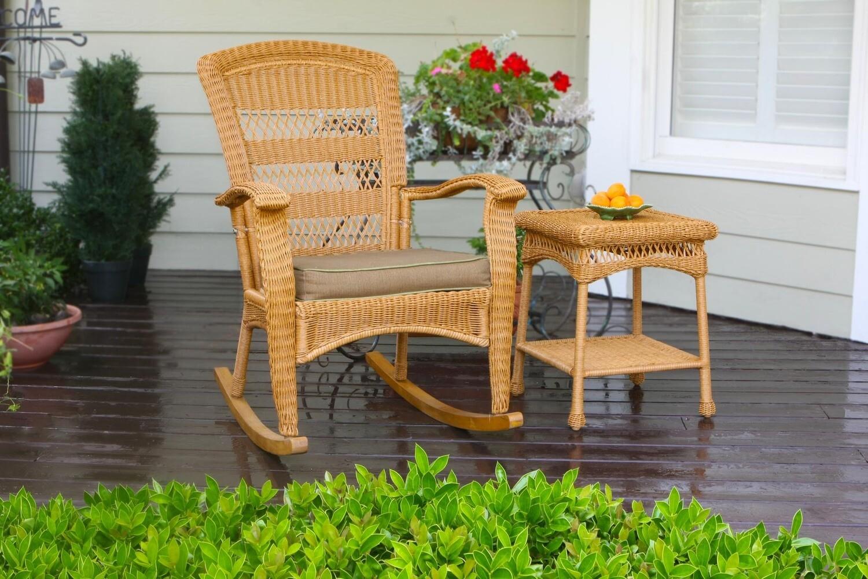 Portside Amber Rocking Chair