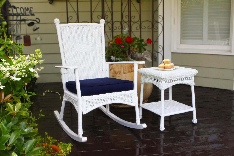 Portside White Classic Rocking Chair