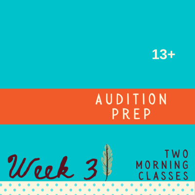 Audition Prep - Two Part - week three
