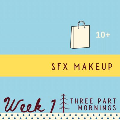 SFX Makeup - Three Part - week one