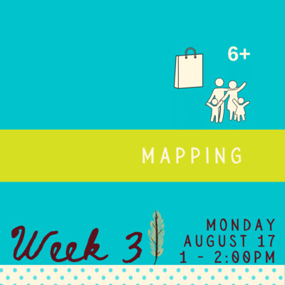 Mapping - Monday - week three