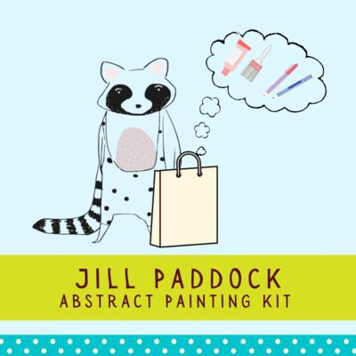 Jill Paddock Abstract Painting Kit