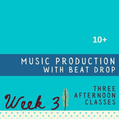 Music Production - Three Part - week three