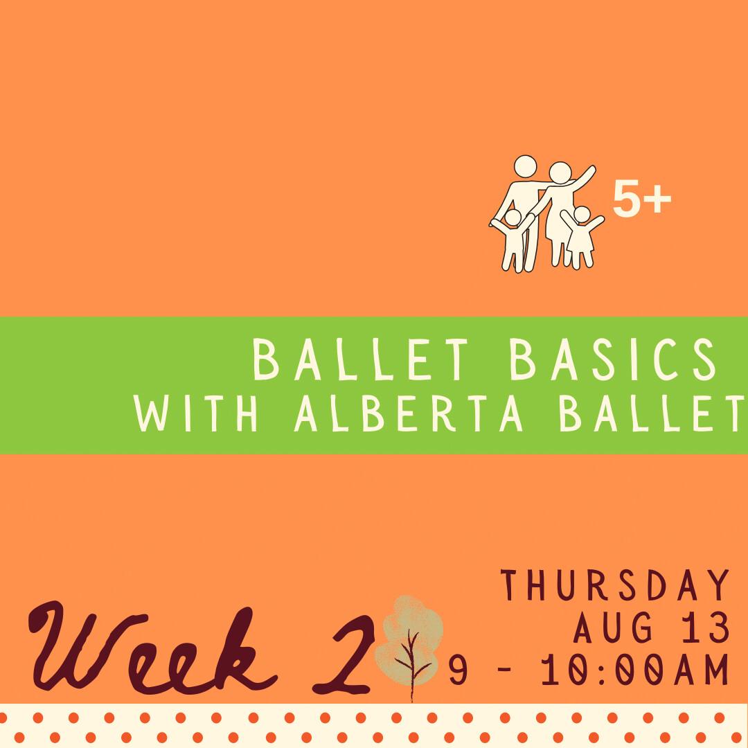 Ballet Basics - Thursday - week two