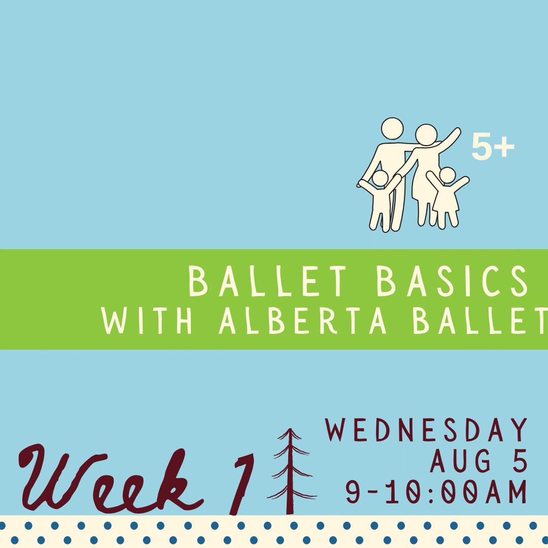 Ballet Basics - Wednesday - week one