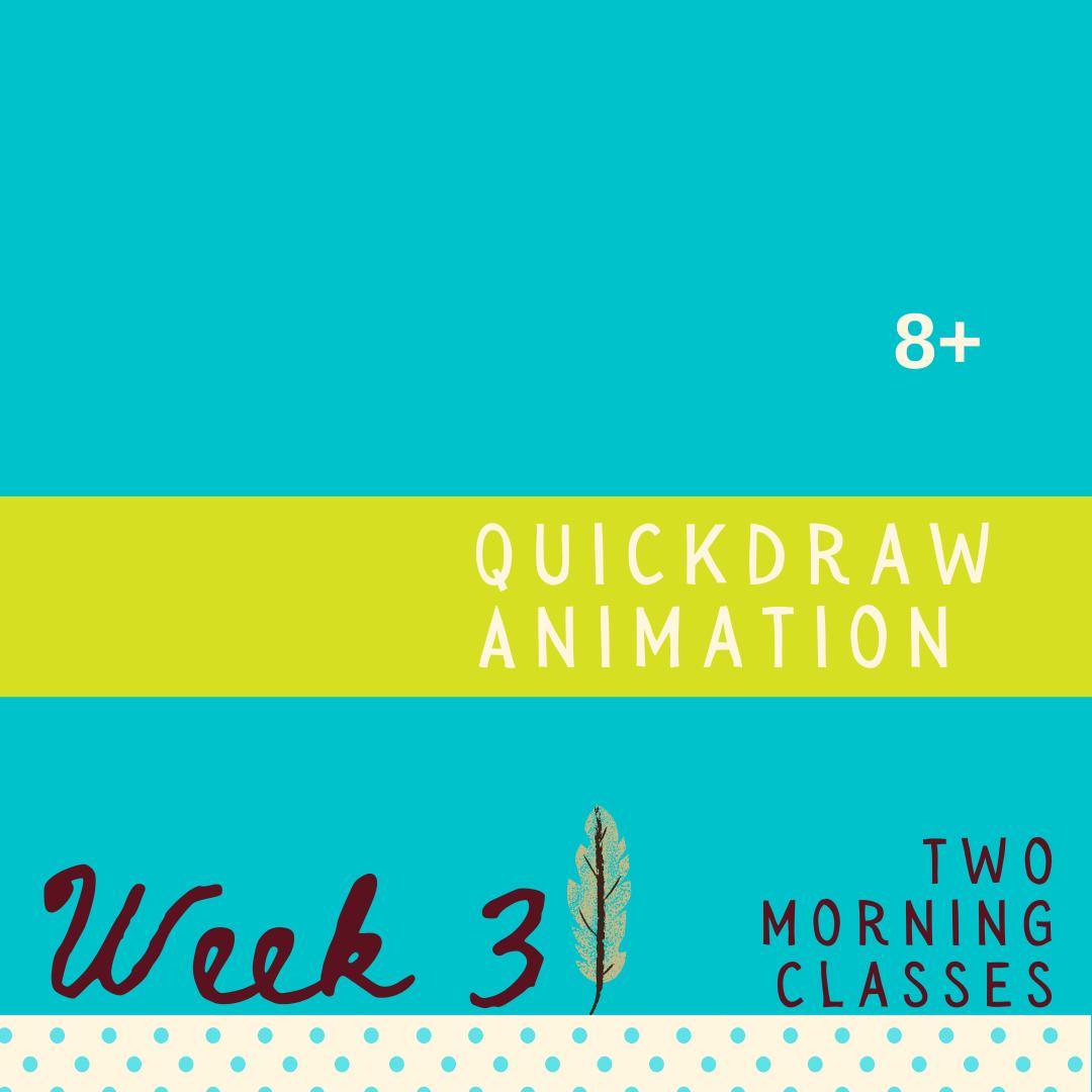 Quickdraw Comics - Two Part - week three