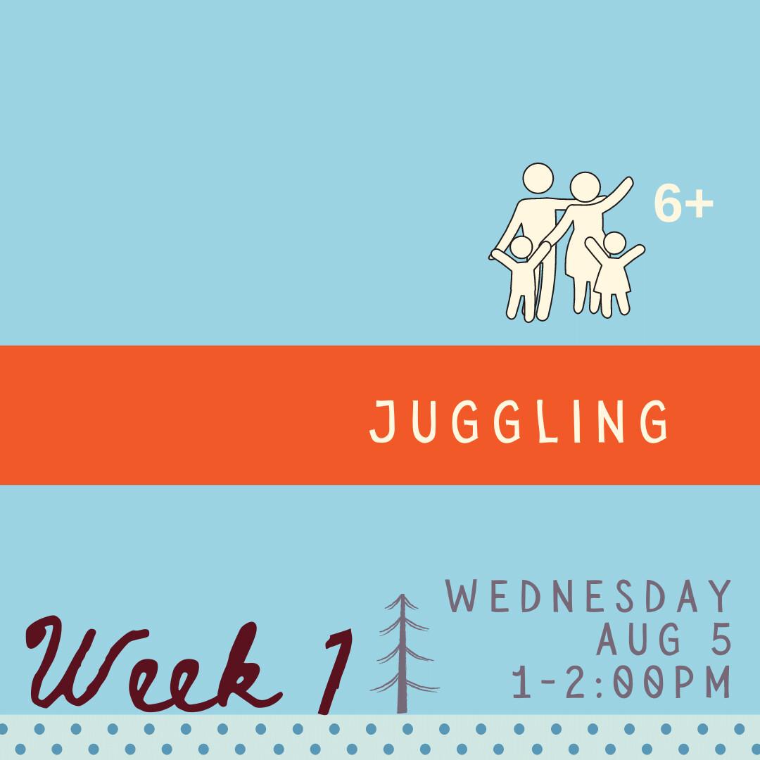 Juggling - Wednesday - week one