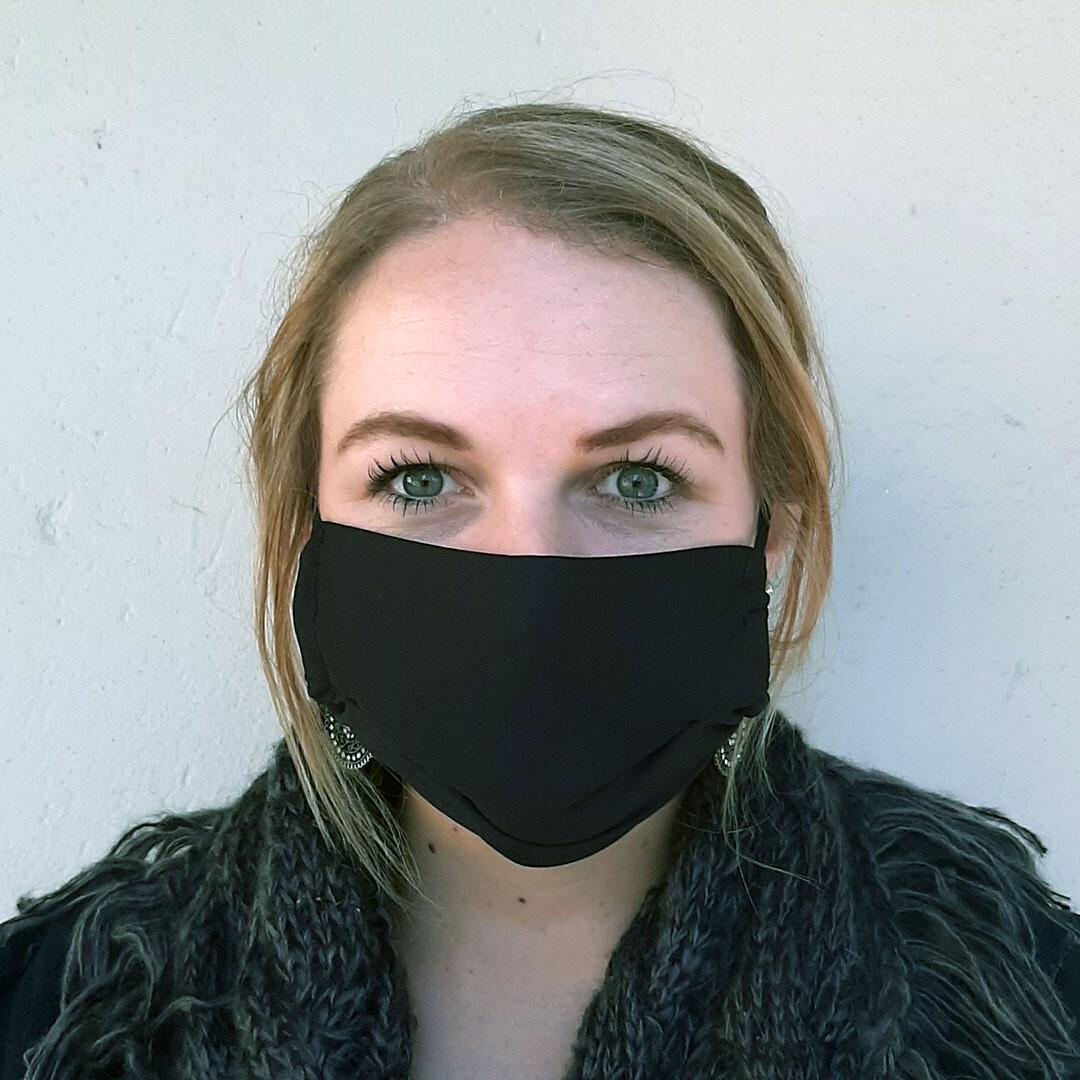 Face Masks - Black (bag of 50)