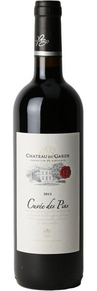 Château du Garde 2011 - Cuvée des Pins Prestige - Côtes de Bordeaux - Rouge