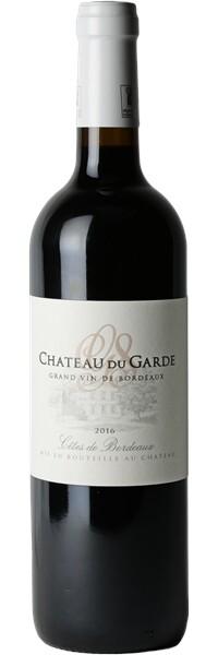 Château du Garde 2016 - Côtes de Bordeaux - Rouge
