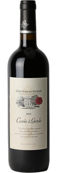 Château du Garde 2012 - Cuvée de Garde Prestige - Côtes de Bordeaux - Rouge