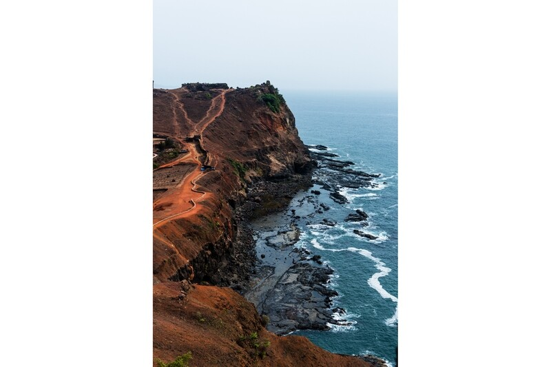 Cliff by Arabian Sea