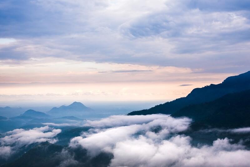 Dusk at Adam's Peak