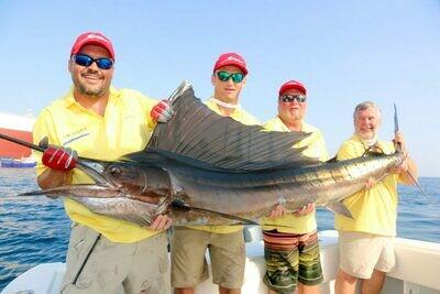 Трофейная морская рыбалка в Дубае (8 часов)