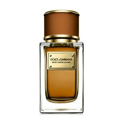 Dolce Gabbana (D&G) Velvet Exotic Leather