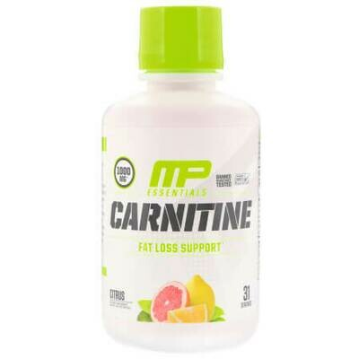 MusclePharm, Carnitine, Fat Loss Support, Citrus