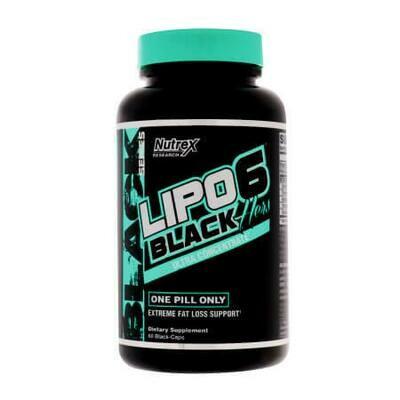 Lipo 6 Black Hers - Ультраконцентрированный ЖИРОСЖИГАТЕЛЬ созданный для Женщин от Nutrex Research