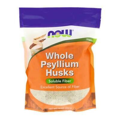 Шелуха семян подорожника для очищение кишечника от Now Foods