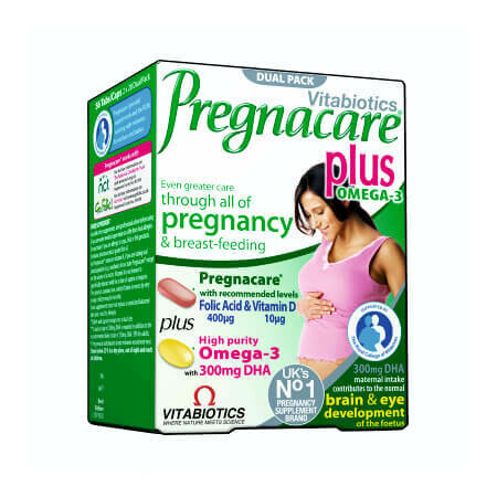 Pregnacare Plus - Самые лучшие витамины для беременных и кормящих грудью женщин