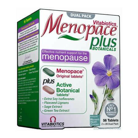Снижения риска нарушений женских циклических процессов Menopace Plus
