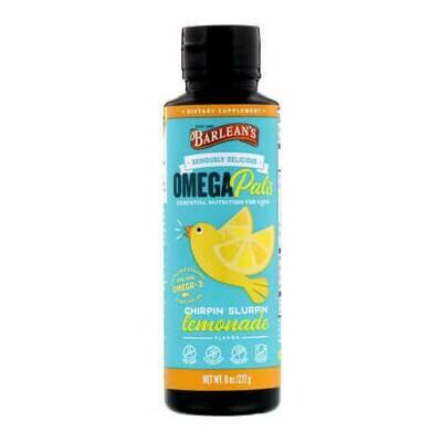 Незаменимые питательные вещества для детей Barlean's Omega Pals