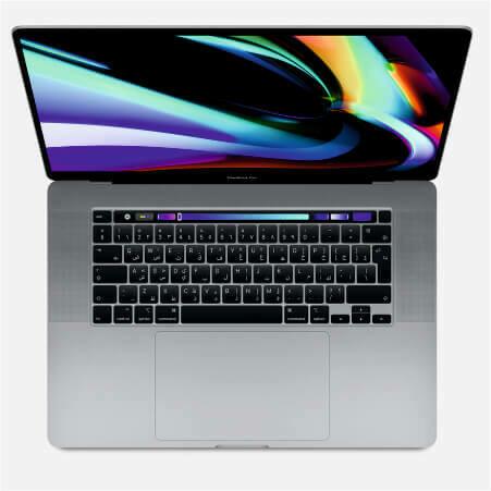 MacBook Pro 16 дюймов 6‑ядерный процессор Intel Core i7 c тактовой частотой 2,6 ГГц Накопитель 512 ГБ AMD Radeon Pro 5300M