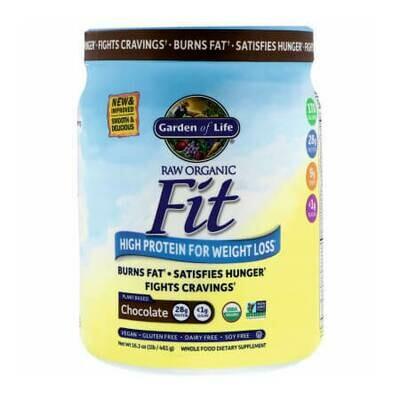 Протеин для похудения с высоким содержанием белка Garden of Life Organic, RAW Fit