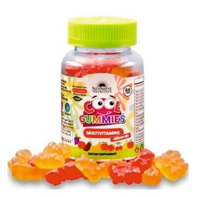 Мультивитамины+минералы для Вашего малыша в одной баночке Cool Gummies от SunShine Nutrition