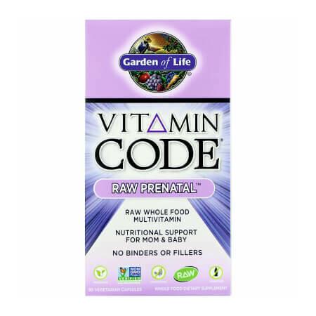 Для беременных, планирующих и кормящих Сырые-Витамины Garden of Life Vitamin Code Raw PRENATAL