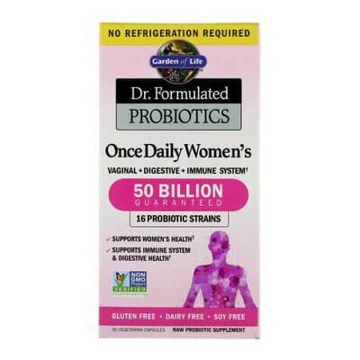 Волшебные пилюли для Женщин. Пробиотики для женщин Garden of Life Once Daily Women's Probiotics