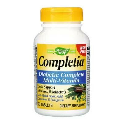 Мультивитаминный комплекс для диабетиков Nature's Way Completia