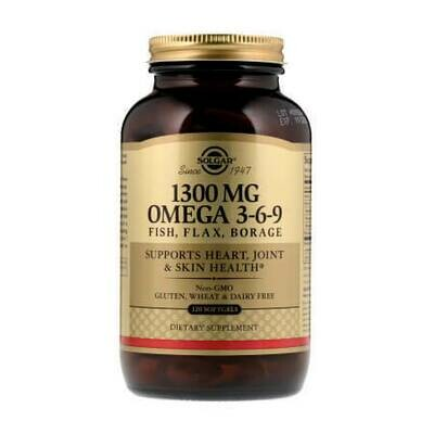 Самый Лучший Омега Solgar 1300 MG Omega 3-6-9